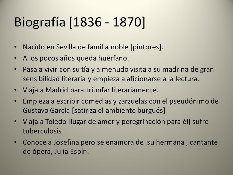 Biografía [1836 - 1870] Nacido en Sevilla de familia noble [pintores].